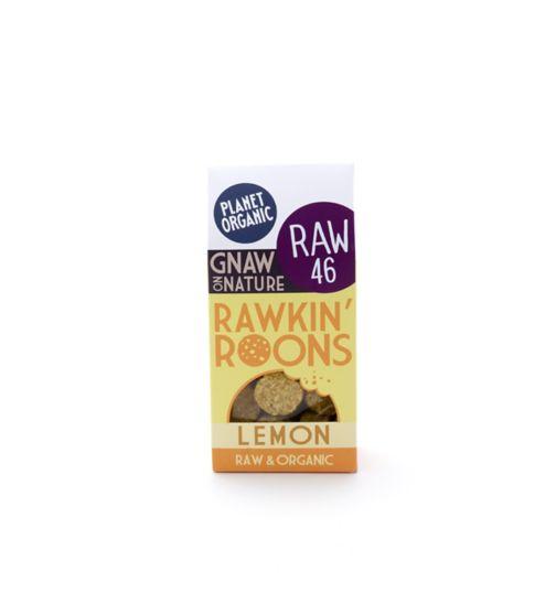 Planet Organic Rawkin Roons Lemon 90g