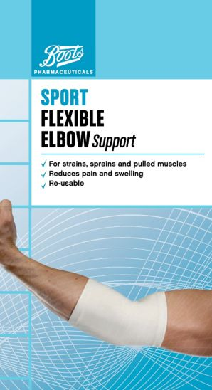 Boots Sport Flexible Elbow Support - Medium
