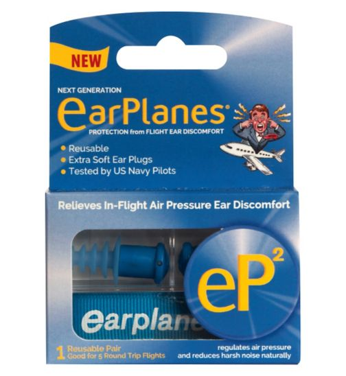 EarPlanes-2 ear plugs - 1 pair