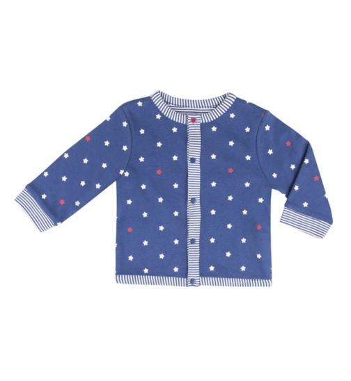 Mini Club Baby Boys Reversible Jacket Blue