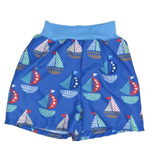 Splash About Happy Nappy Board Swim Shorts Set Sail (Extra Large) 12-24 Months