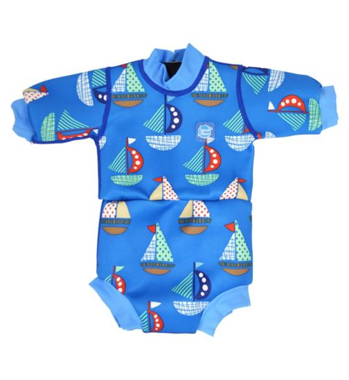 Splash About Happy Nappy Swimming Wetsuit Set Sail (Large) 6-14 Months