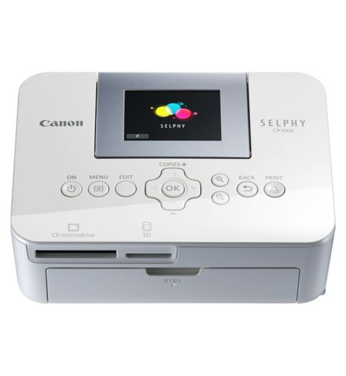 Canon SELPHY CP1000 portable photo printer