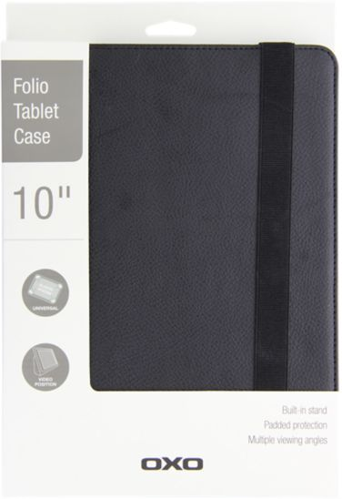 Oxo 10' Universal Folio Tablet Case - Black