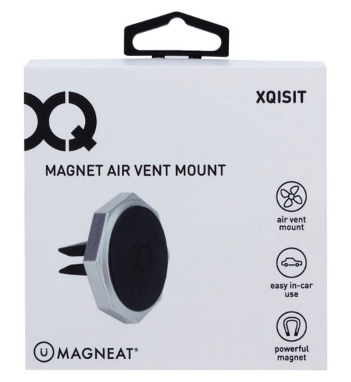 Xqisit Universal Air Vent Car Holder - Magnetic Black