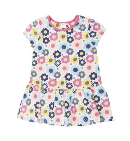 Mini Club Girls Pink Flower Tunic