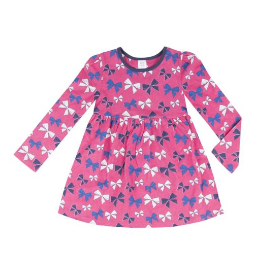 Mini Club Girls Pink Bow Tunic