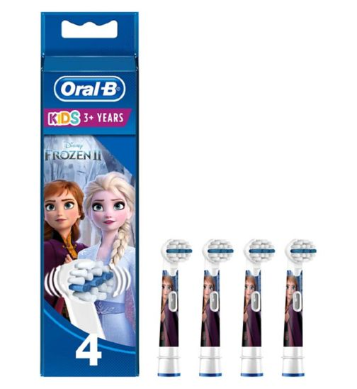 Oral-B Kids Replacement Toothbrush Heads x4 – Disney Frozen