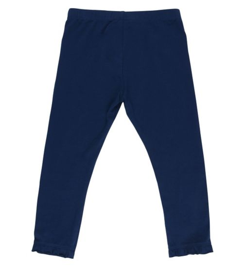 Mini Club Girls Legging Navy Blue