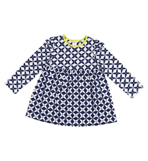 Mini Club Girls Tunic Geometric Print