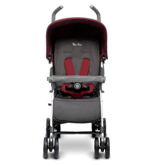 Silver Cross Reflex Pushchair - Vintage Red