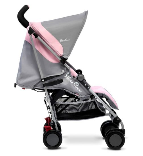 Silver Cross Pop Stroller - Vintage Pink
