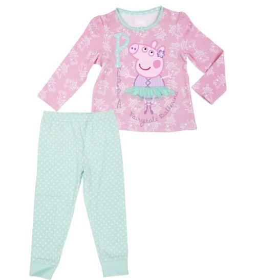 Mini Club Girls Peppa Pig Pyjamas