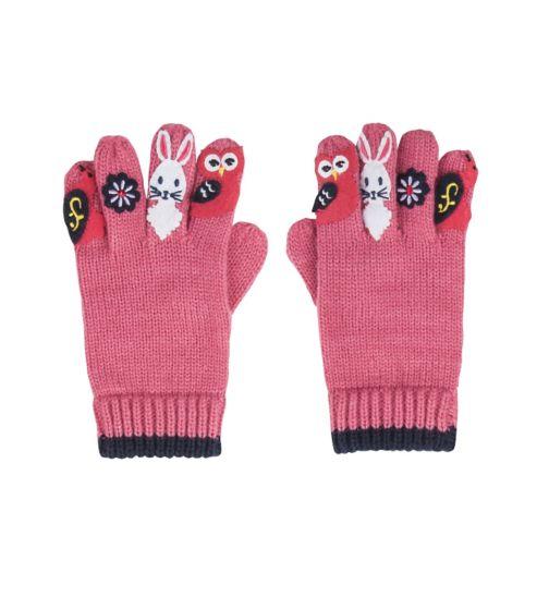 Mini Club Girls Gloves Pink