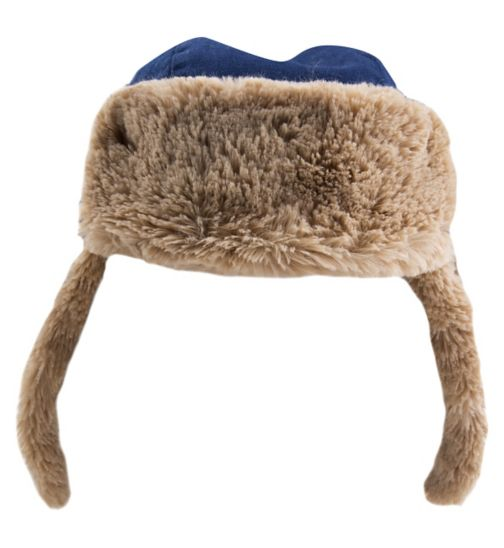 Mini Club Boys Trapper Hat Blue