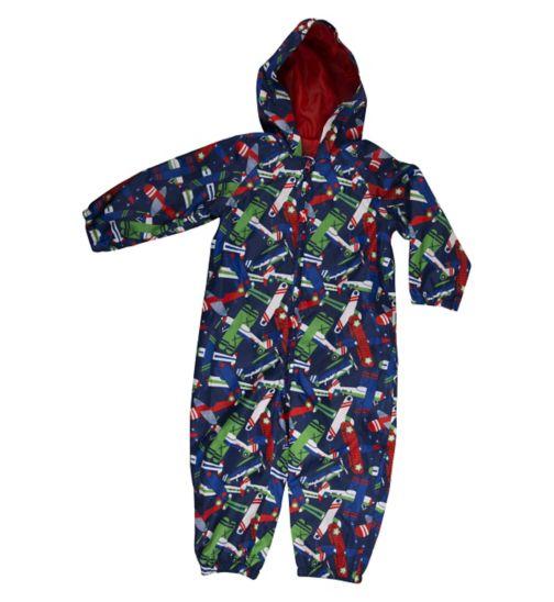 Mini Club Boys Puddle Suit Planes