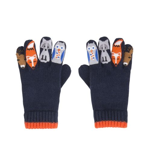 Mini Club Boys Gloves Blue