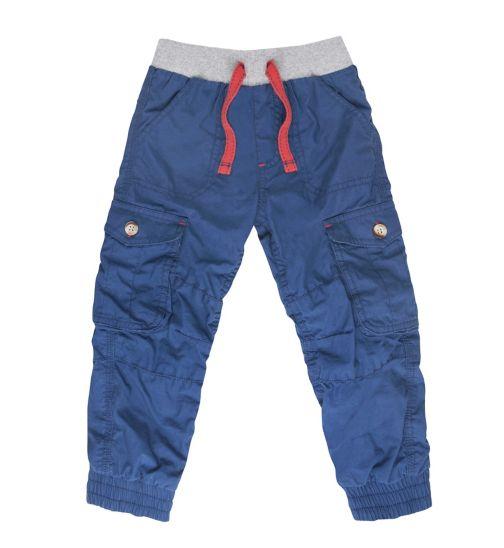 Mini Club Boys Combat Trousers Blue