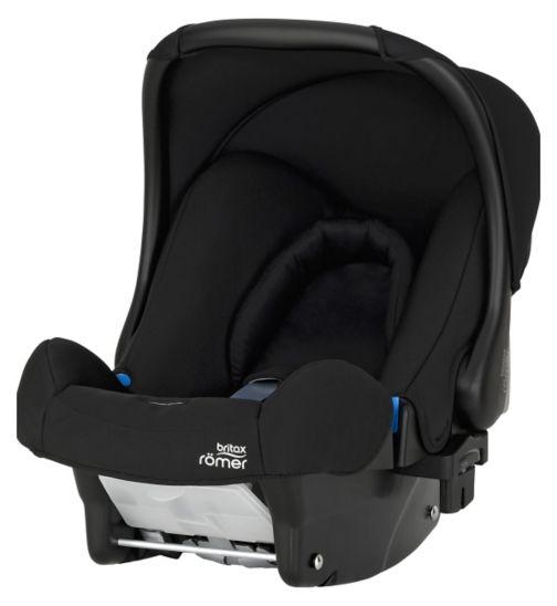 Britax Romer Baby-Safe Group 0+ Car Seat - Cosmos Black