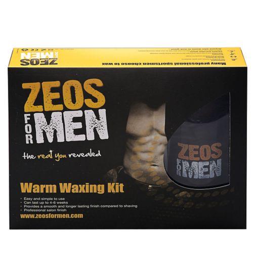 ZEOS® For Men Warm Waxing Starter Kit