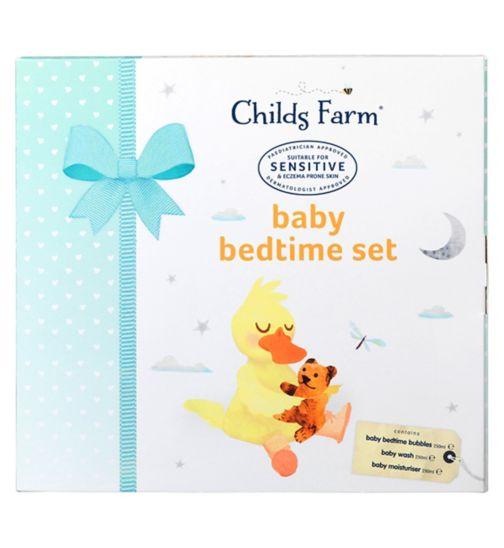 Childs Farm Baby Bedtime Set  3 x 250ml