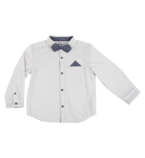 Mini Club Boys Shirt with Bow Tie