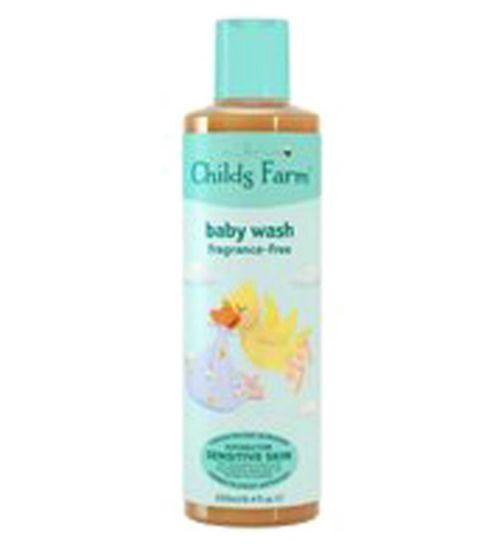 Childs Farm Baby Wash Unfragranced 250ml