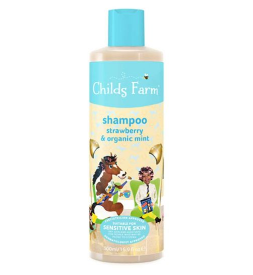 Childs Farm Shampoo Strawberry & Organic Mint 500ml