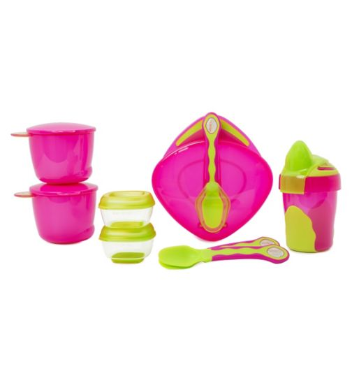 Vital Baby Two Travel Spoons To Go On Pouches 4 Months Plus Cups, Dishes & Utensils New In Packaging