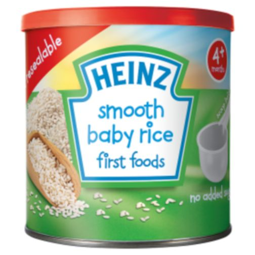 Heinz 4+ Months Smooth Baby Rice First Foods 140g