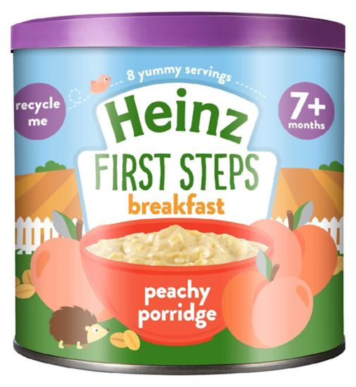 Heinz 7+ Months Perfectly Peachy Multigrain 240g