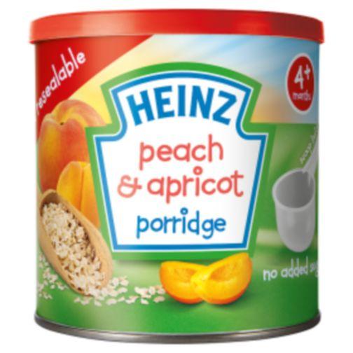 Heinz 4+ Months Peach & Apricot Porridge 240g