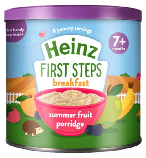 Heinz 7+ Months Summer Fruit Multigrain 240g