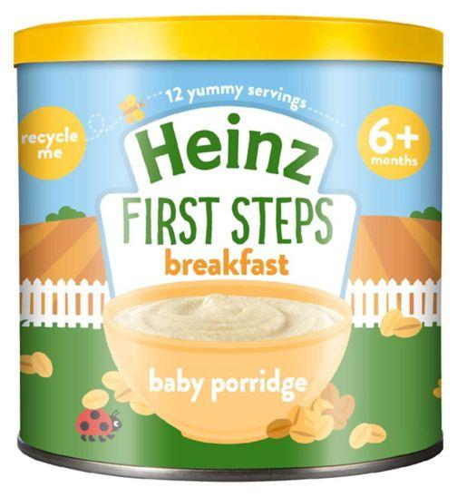 Heinz 4+ Months Creamy Oat Porridge 240g