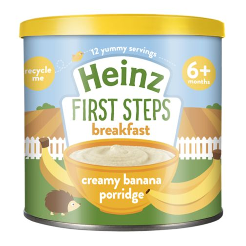 Heinz 4+ Months Sunrise Banana Porridge 240g