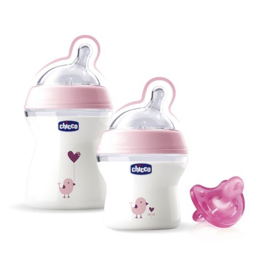 Chicco NaturalFeeling Pink Gift Set