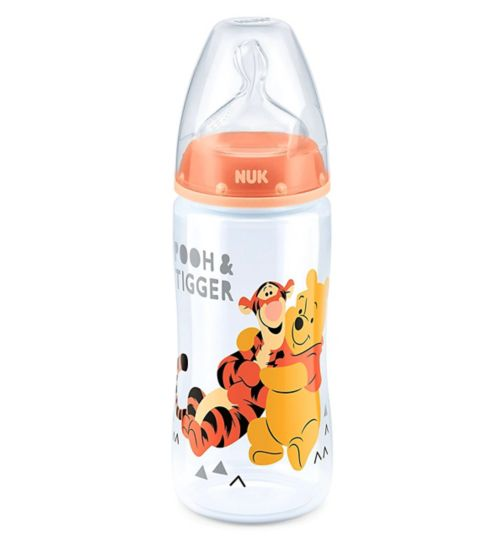 NUK First Choice+ Winnie the Pooh Feeding Bottle 300ml