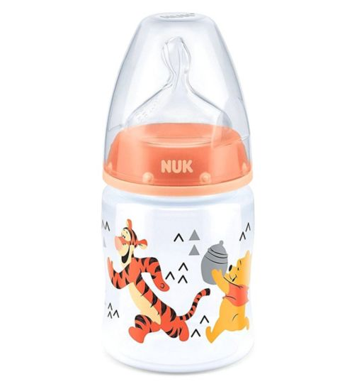 NUK First Choice+ Winnie the Pooh Feeding Bottle 150ml
