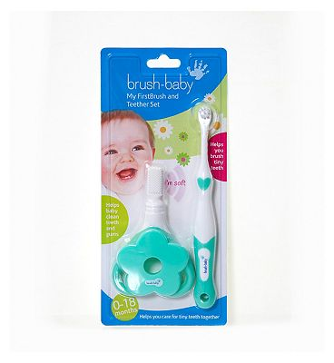 Brush Baby My First Brush & Teether Set