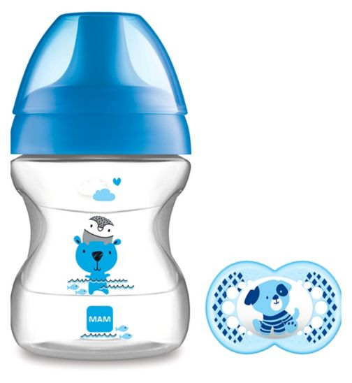 MAM Learn to Drink Cup & Soother 190ml