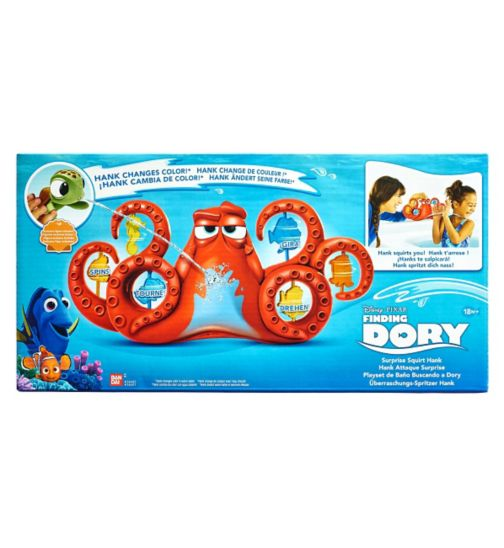 Finding Dory Surprise Squirt Hank Playset