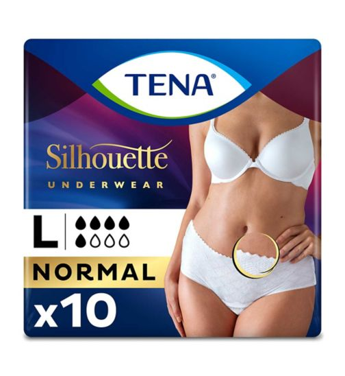 TENA Lady Pants Discreet Duo Pack Large - 10 pants