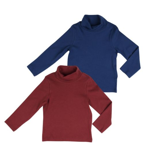 Mini Club Boys Turtle Necks 2 Pack