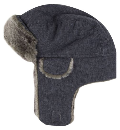 Mini Club Boys Trapper Hat Grey