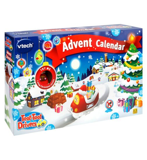 Toot Toot Drivers Advent Calendar