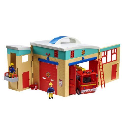 Fireman Sam pontypandy fire station
