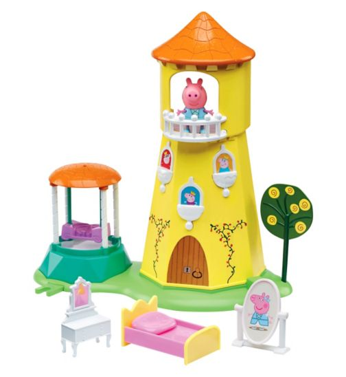 Peppa Pig Princess rose garden and tower