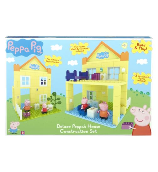 Peppa Pig Construction deluxe house