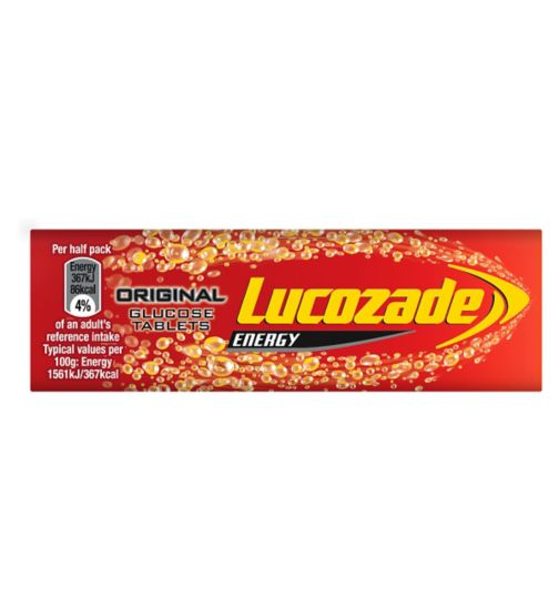Lucozade Energy Original Glucose Tablets 47g