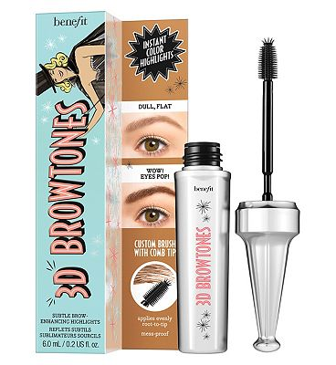 Image of Benefit 3D browtones 6m 02 Light/medium